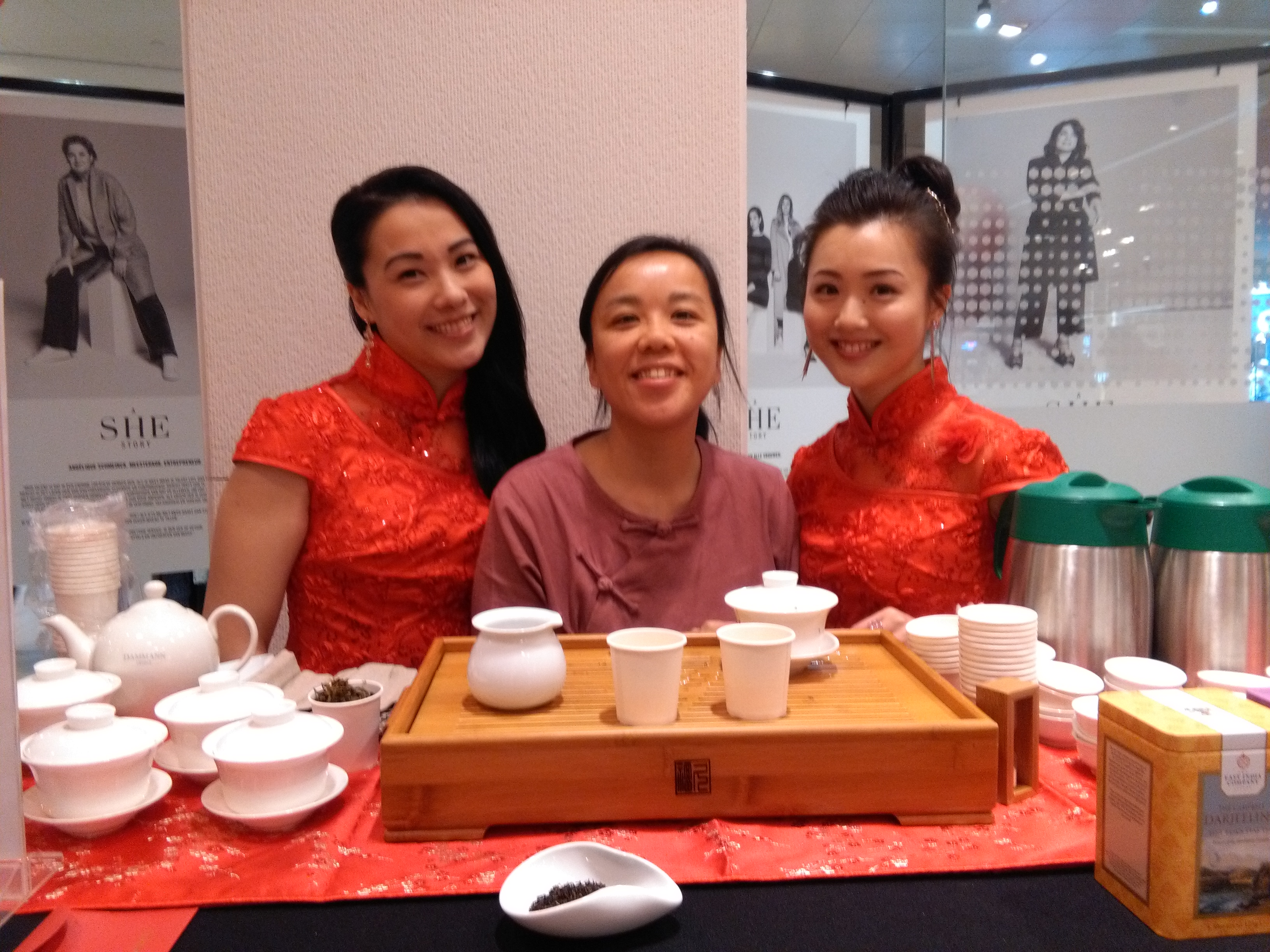 Tea ceremony @deBijenkorf